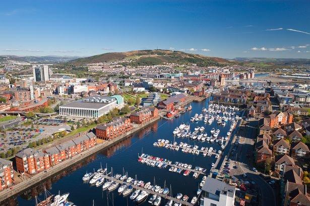 Korfball in Swansea